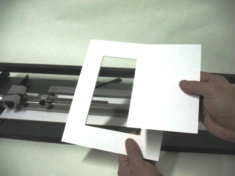 How to cut a mat for picture framing