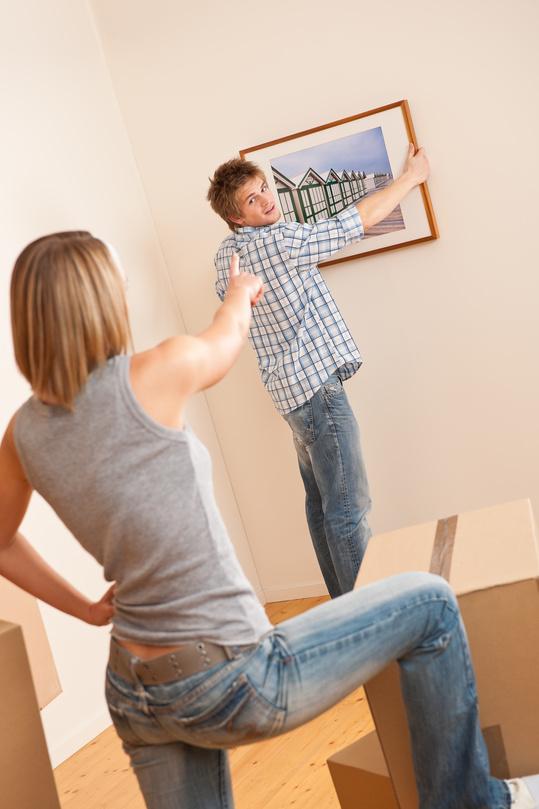 Tips for hanging and arranging framed art