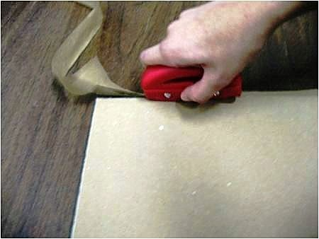 How to attach a dust cover