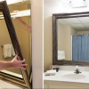 The challenges of framing a mirror